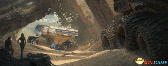 科幻风格震撼眼球 《指环王》原画师最新艺术图