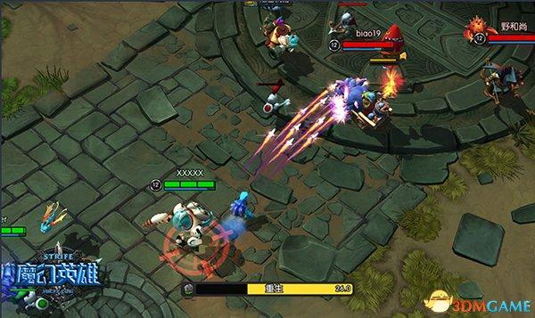 《魔幻英雄》 加入全新系统加快团战节奏感