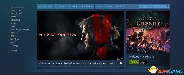 集显人数最多,登陆Steam游戏已超过6000个