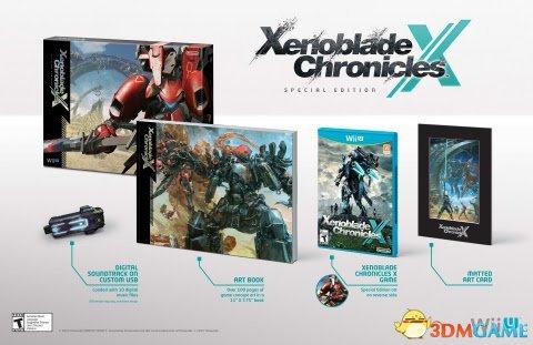《异度之刃X》惊艳新截图 游戏战斗、世界环境一