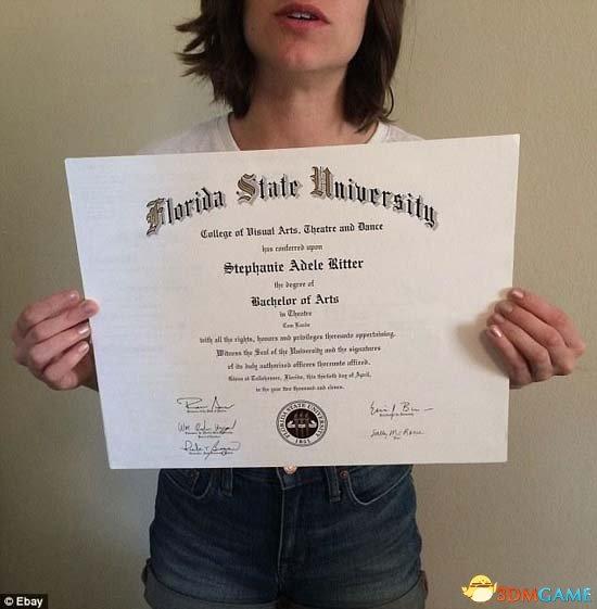 美国女大学生未找到满意工作 网上32万卖文凭