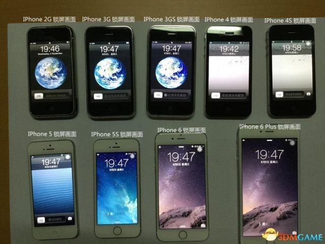 <b>iPhone 6S要来了 历代iPhone主界面和外形回顾</b>