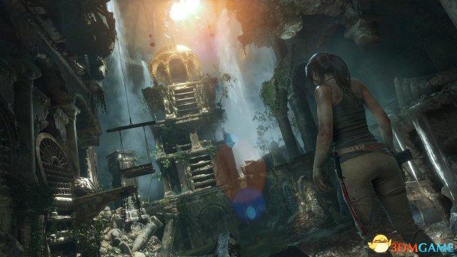 劳拉与奥西里斯神庙,古墓丽影