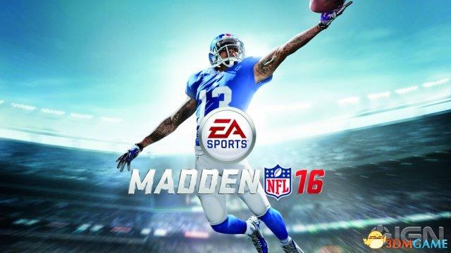 《Madden NFL 16》登顶 8月美国十大销量游戏公布