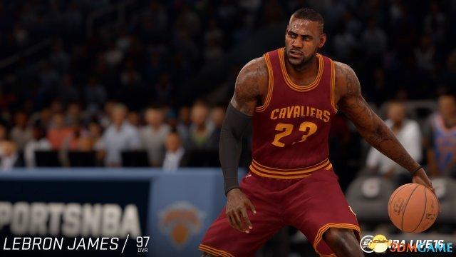 《NBA Live 16》球星能力值公布 詹皇97阿杜次之