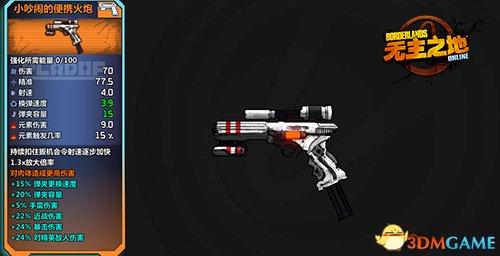 军火走私集团!《无主之地OL》值得收集的NPC枪械