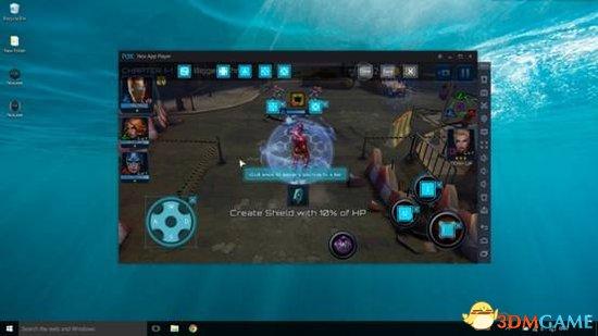装置卓仿造器电脑玩顺手机游玩:神物魔掳掠战斗体验