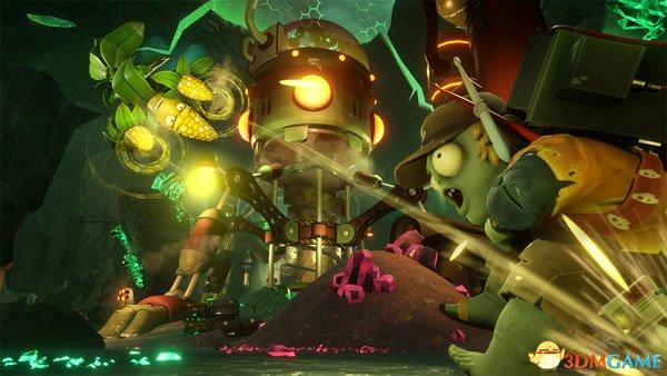 《PVZ:花园战争2》新演示 六大全新角色战个痛快