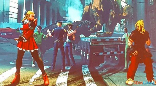 《街头霸王5》亮相纽约动漫展 现场大派送定制PS4