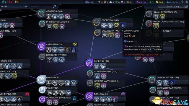 文明:太空-潮起 人造物组合一览 人造物合成公式