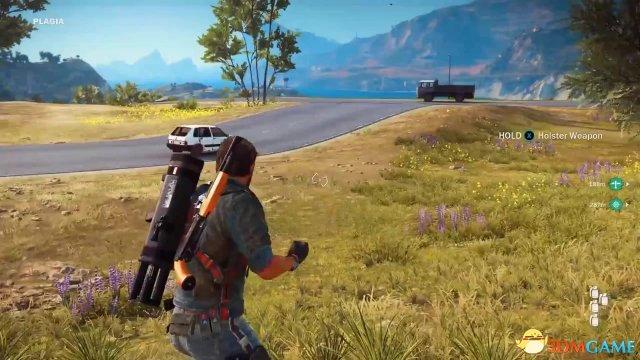 《正当防卫3》PC版40分钟演示 开直升机狂轰乱炸