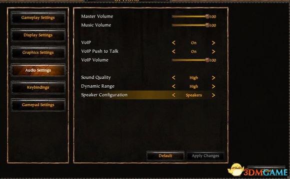 战锤:末世鼠疫 游戏内语音设置方法 怎么设置语音