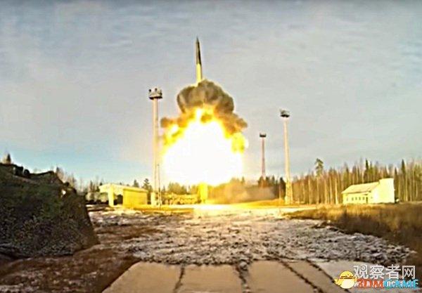 俄进行大规模导弹试射 全面测试三位一体核打击