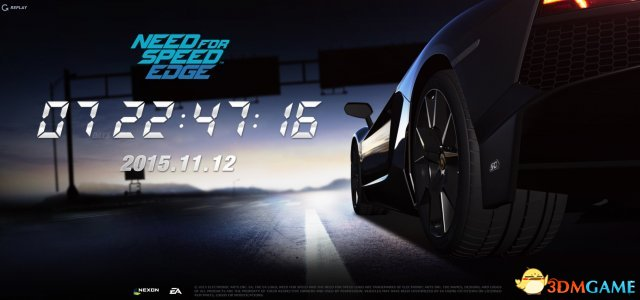 《极品飞车:极限边缘》网游公布 EA韩国工作室开发