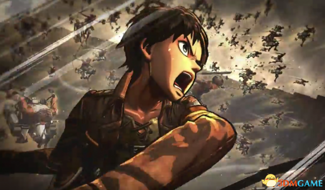PS4《进击的巨人》新预告及截图 展示3D立体机动