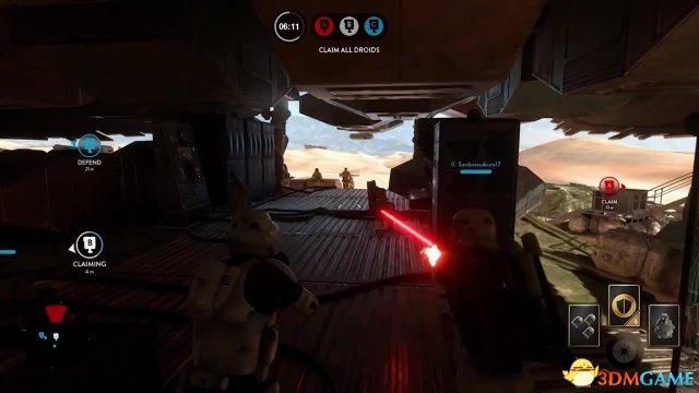 星球大战,新视频展示Endor掠空艇丛林战