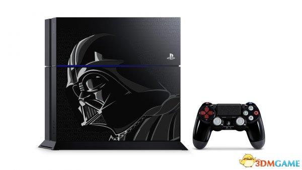 索尼公布黑武士版限量PS4 附赠四款经典星战游戏