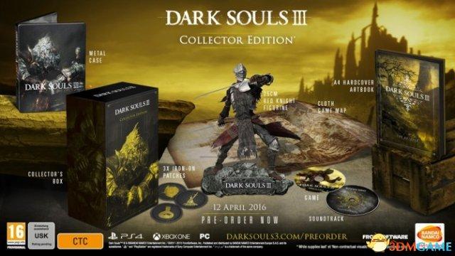 零售商曝两款收藏版《黑暗之魂3》 东西虽好价太高