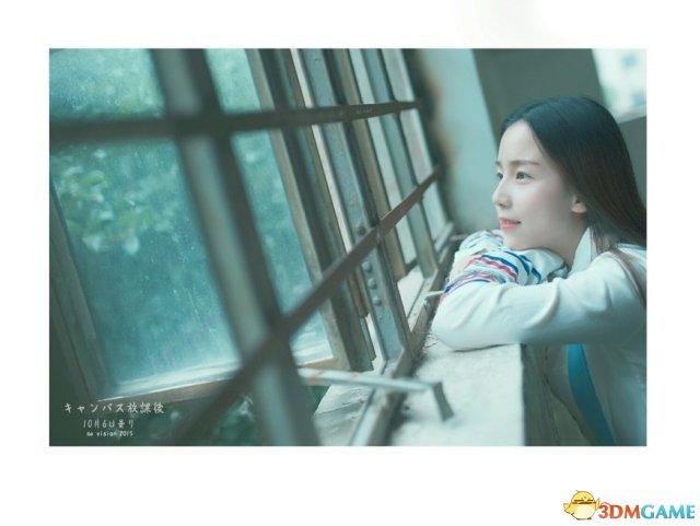 南京林业大学校花晒唯美写真 清冷气质酷似小龙女