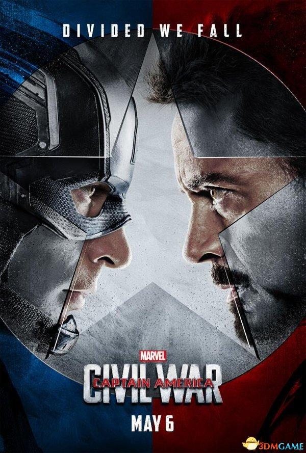 《美国队长3》官方预告片首曝 美队冬兵狂虐钢铁侠