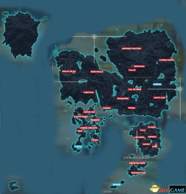 正当防卫3 完整地图一览 正当防卫3地图有多大