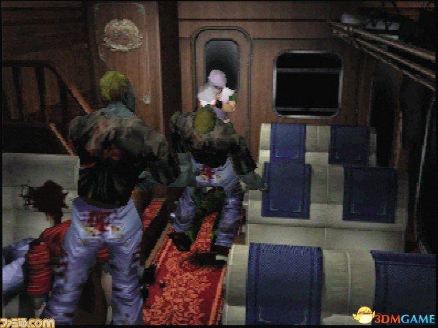 <b>《生化危机0》N64版本截图欣赏 真是满屏的游戏性</b>