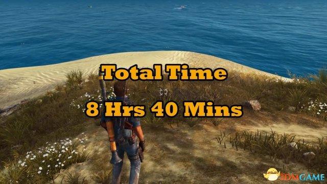 《正当防备3》地图太大 游戏的使用者步行穿过花