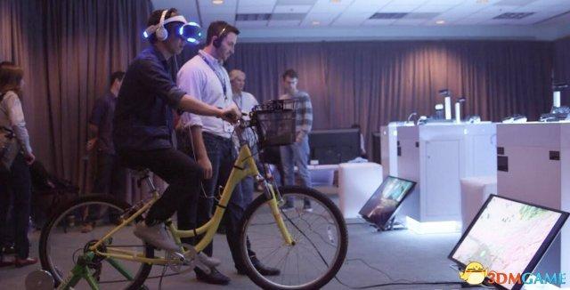 VirZoom虚拟骑行发布:在家就能实现户外健身体验