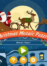 圣诞镶嵌拼图 英文硬盘版