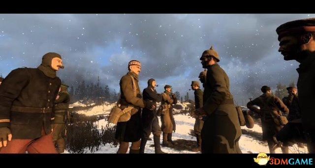 《凡尔登战役》推出圣诞休战 和敌人一起打雪仗吧