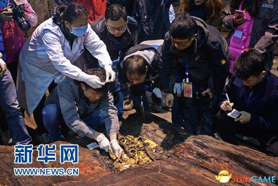 海昏侯墓出土金饼285枚 数量之多为汉墓考古之最