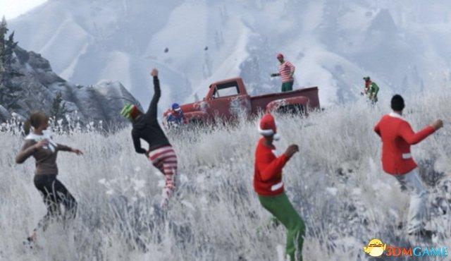 《侠盗猎车OL》开启第二次雪落活动庆祝新年到来