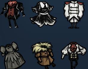 饥荒 中所有的装饰 饥荒联机版服装饰品图鉴一览