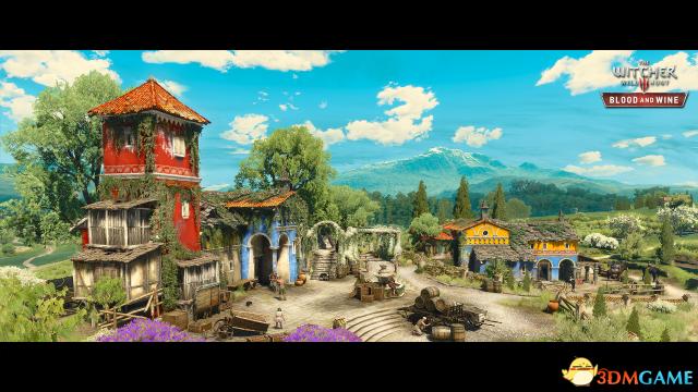 CDPR:《巫师3》DLC新区域超大 想打穿得20小时