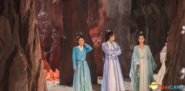 《诛仙青云志》最新剧照 陆雪琪这脸尖得有些梦幻