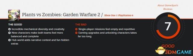 《PVZ:花园战争2》GameSpot 7分 开头演示放出