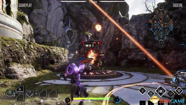 MOBA《Paragon》新视频出炉 召唤师基甸狂砸陨石