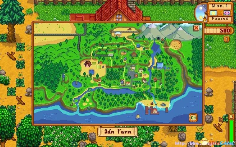 《星露谷物语》 图文教程攻略 农场上手指南及系统解析