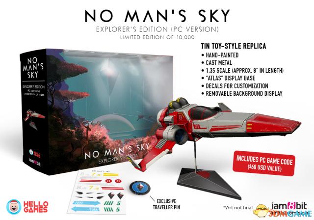 《无人深空》今年6月将发售 高价探索者版送航模