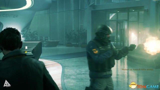 《量子破碎》最新视频 移行幻影大法耍酷爽得飞