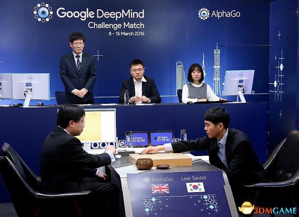 人机围棋大战首局落定:谷歌人工智能先下一城!