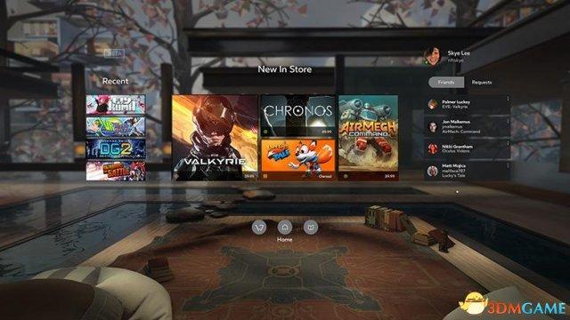 Oculus Rift游戏价格和舒适度公布 最低5美元