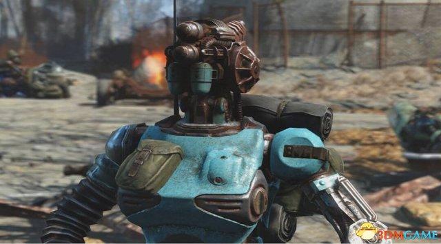 "<b>《辐射4》首款DLC""机械军团""将加入机器人跟班</b>"