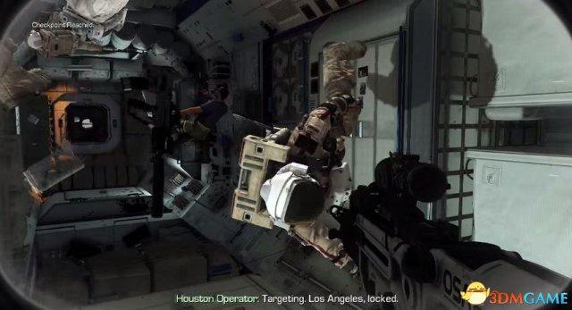 传《使命召唤13》设在太空中 有太空战而且很科幻