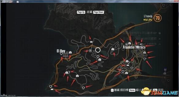 《极品飞车19》全收藏地点精准位置图一览