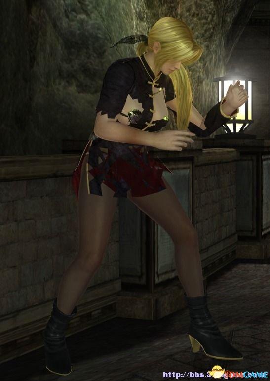 死或生5最后一战 海莲娜性感黑丝超短裙服装mod分享