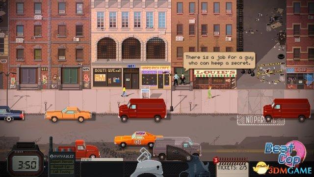 像素画面犯罪题材新作《巡警》公布宣传预告视频