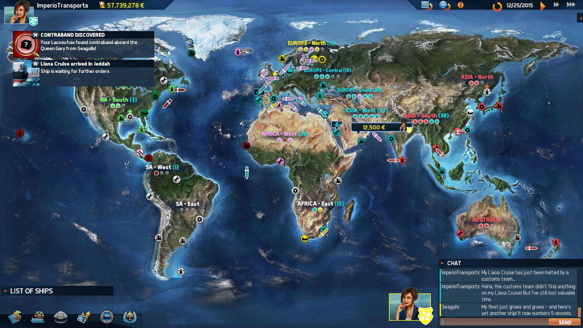 《跨洋2:竞争对手》for mac