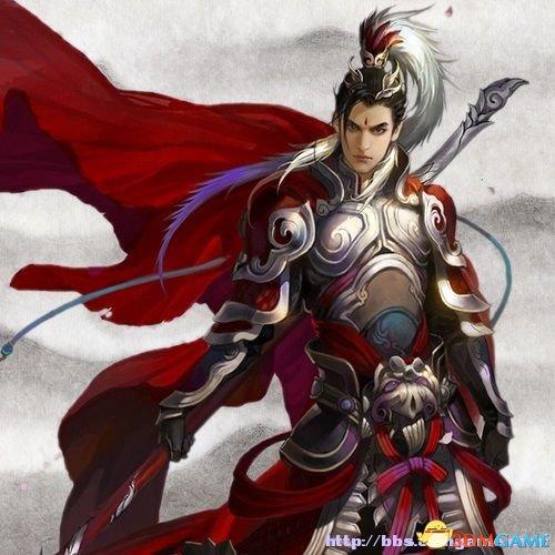 三国志13 赵云特典头像mod 带呼吸效果文武头像mod