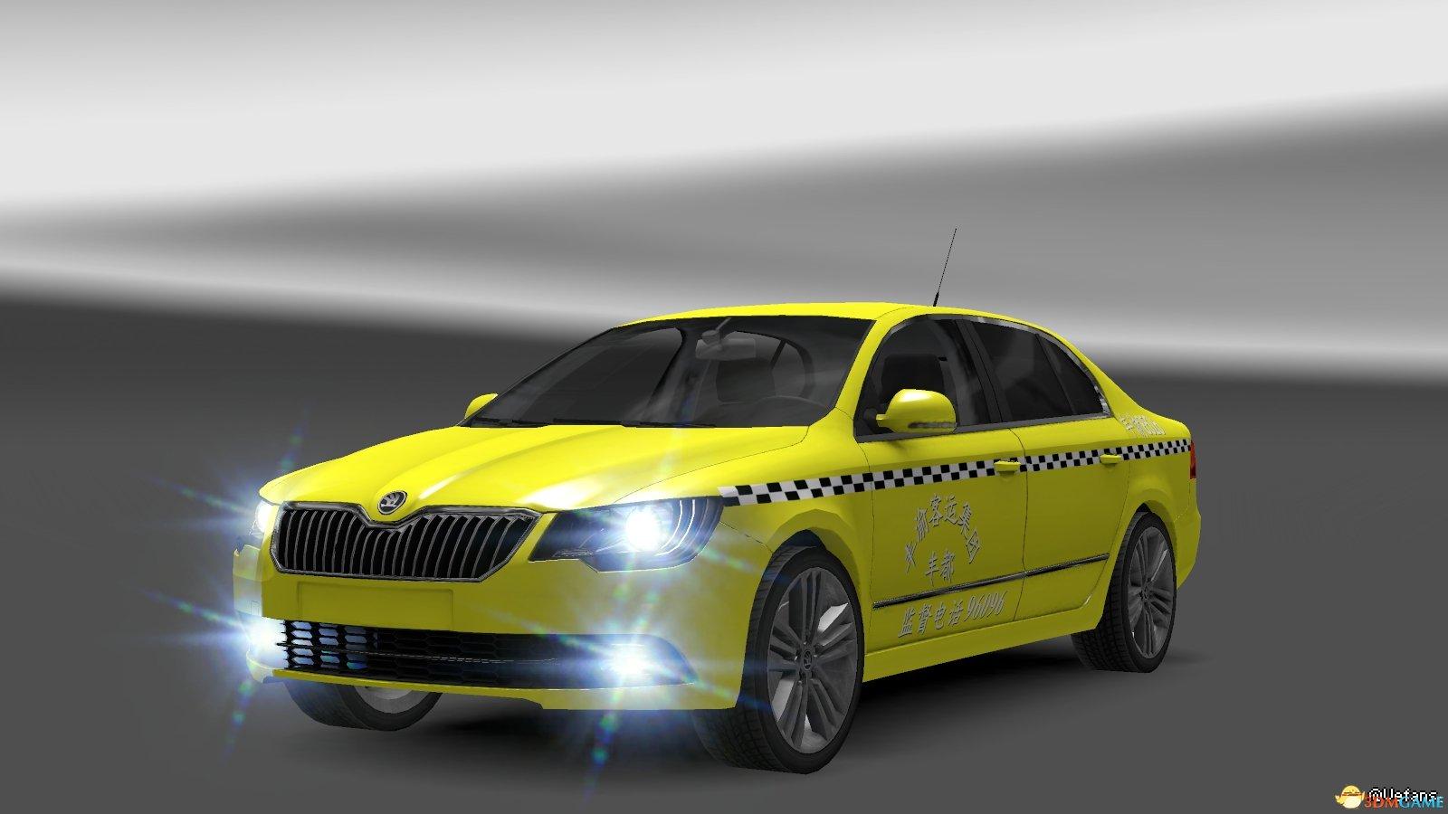 欧洲卡车模拟2 斯柯达公安皮肤 中国路政皮肤分享 _3DM单机